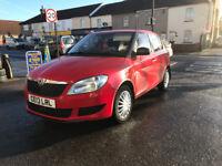 Skoda Fabia 1.2 Petrol Manual 5 Door Hatchback Red 2013 Stunning Car