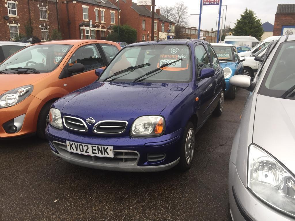 2002 nissan micra 1 0 automatic in old basford. Black Bedroom Furniture Sets. Home Design Ideas
