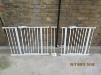 Lindam Easy Fit Plus Stair gates x2