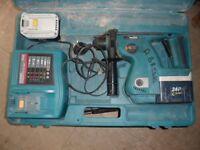 Makita BHR200 hammer drill 24V