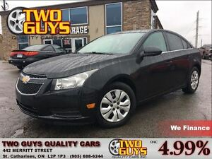 2013 Chevrolet Cruze LT Turbo RED INTERIOR GREAT KMS!!