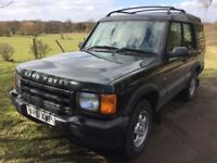 2001 DIESEL Land Rover Discovery Manual TD5 7 Seater MOT November 2018