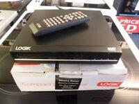 Logik DVD Player in Black