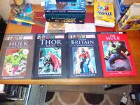Trade Paperbacks and Hardback Graphic Novel Bundle.