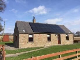 To Let - 3 bedroom detached country cottage