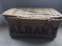 'Albany Laundry' Lidded Basket....log basket, toy box, storage?