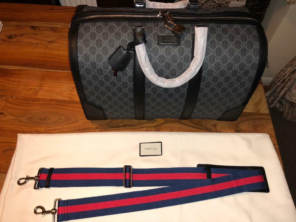 4d2c22fa419f 100% authentic Gucci Duffle Bag Open to sensible offers! Louis Vuitton  fendi stone island cp
