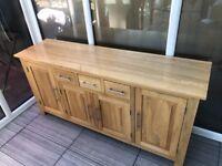 Solid Oak Sideboard John Lewis
