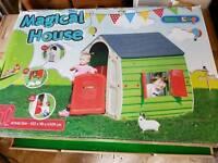 Magical house, kids play house, wendy house