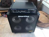 Hartke HA3500 Bass amp and hartke 410tp