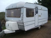 touring caravan classic roma mustang very rare 5 berth ,no damp ,