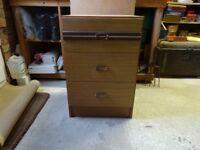Bedroom 3 Draw Storage Cabinet