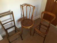 Antique Chairs For Restoration Cane Weave