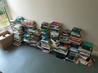 wholesale joblot Over 500 Books Fiction And Non Fiction
