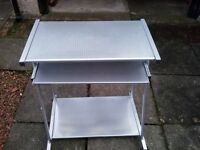 Metal computer desk £30 ono