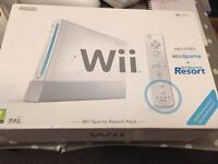 Wii sports resort pack & Wii fit board & Acessories