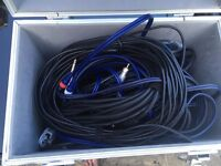Large Box of Various Cables/Leads