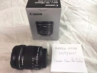 Canon EFS 10 - 188mm Lens (Wide angle nice for vlogging and landscapes)
