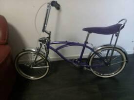 Vintage retro antique girls bike