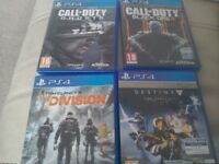 4 PS4 games