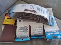 Sanding belt sheets assorted