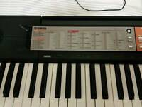 Yamaha F50 keyboard