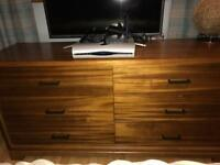 Large modern six drawer bedroom chest of drawers from Next GC