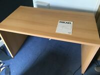 IKEA Mikael birch veneer desk