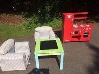 Set of kids furniture