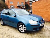 VW GOLF 1.9 TDI SE 2006/56 LONG MOT FULL SERVICE 5 DOOR
