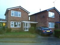 3 bedroom detached with drive and garage