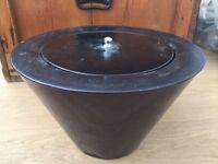 Gel outdoor or indoor fire bowl