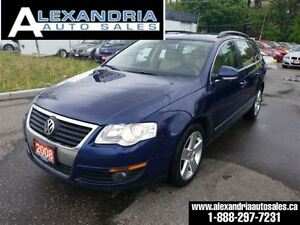 2008 Volkswagen Passat Wagon 2.0 turbo leather 167km safety incl