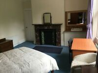JESMOND, CENTRAL CONVENIENT SPACIOUS DOUBLE ROOM, IN PROFESSIONAL HOUSESHARE, SOCIABLE, QUIET SCENIC