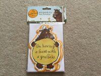 The Gruffalo 10 Frightfully Nice Party Invitations & Envelopes NEW