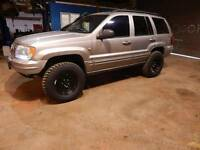 Jeep grand cherokee wj offroader off road