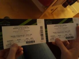 2 tickets for Queens of the Stone Age at Wembley Arena November 18th