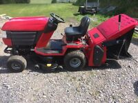 Westwood 1600T with brush collector box