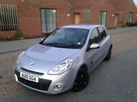 CHEAPEST RENAULT CLIO DIESEL 1.4 2010. ONLY 78 K MILES. FREE ROAD TAX. SUPERB DRIVE. IDEAL FIRST CAR