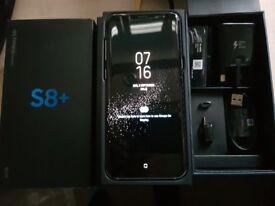 SAMSUNG GALAXY S8 PLUS 64GB UNLOCKED ARCTIC SILVER