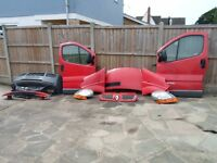 Complete front end for Renault Trafic or Vauxhall Vivaro 2002-2010