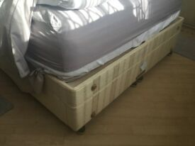 Base for king size bed in very good condition; can give 2 singles beds