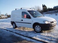 Stunning Vauxhall Combo 1.7 Di Van, Only Two Owners From New, Full M.O.T. Service History,