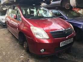 renault modus 1.4 petrol red 2005 breaking for spares - wheel nut
