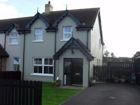 32 St PATRICK'S VIEW, RAHOLP, DOWNPATRICK. ( JUST 5 MILES FROM CASTLEWARD AND STRANGFORD )