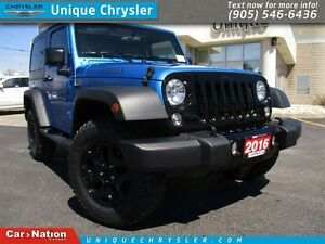 2016 Jeep Wrangler Sport | WILLY'S | BRAND NEW | STUNNING COLOUR