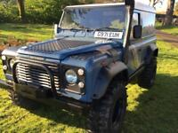 LAND ROVER. DEFENDER TDI fully kitted