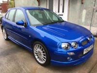 2001 MGZR 160, really beautiful condition. 2 owners, 49000 miles. Time Warp Car.