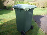 GREEN WHEELIE BIN LARGE 240ltr