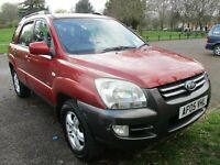 2005 05 KIA SPORTAGE 2.0 XE FULL HISTORY FULL MOT JUST SERVICED LPG GAS CONVERSION 60 MPG! PX SWAPS